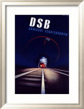 DSB Framed Giclee Print by Ramussen 