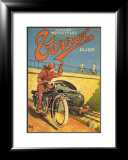 Cycles Motocycles Affiche par Nyck 