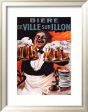 Biere De Ville Sur Illon Posters by Francisco Tamagno