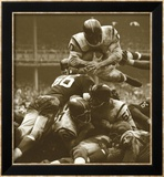 Over The Top: The Redskins vs. The Giants, noin 1960 Juliste tekijänä Robert Riger