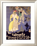 Valencia Framed Giclee Print by Vercher 