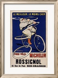 Michelin Framed Giclee Print by H. L. Roowy