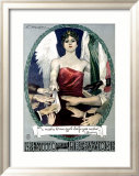 Liberty Bond Prestito Della Liberazione Kehystetty giclee-vedos tekijn Achille Luciano Mauzan