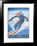 Sports d'Hiver Art by Georges Arou