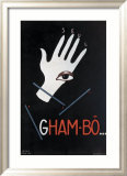 Gham Bo Framed Giclee Print by Paul Colin