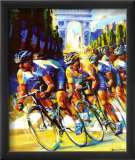Victory on the Champs-Elysees Affiche par Malcolm Farley