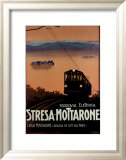 Stresa-Mottarone Framed Giclee Print by Richter