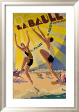 La Baule Framed Giclee Print by Maurice Lauro