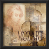 Tribute to Mozart Lminas por Marie Louise Oudkerk