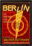 Ruttmann Berlin Symphony of a Great City Indrammet giclee-tryk