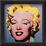 Marilyn, c.1964 (On Dark Gray-Blue) Prints by Andy Warhol