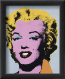 Marilyn, c.1964 (On Light Gray-Blue) Prints by Andy Warhol