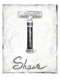 Shave Premium Giclee Print by Chariklia Zarris