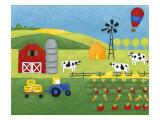 Storybook Farm Kunstdrucke von Chariklia Zarris