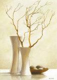 Branche de cerisier japonais I Affiches par Karin Valk