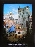 Hundertwasser House Posters av Friedensreich Hundertwasser