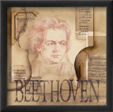 Tribute to Beethoven Psters por Marie Louise Oudkerk