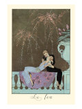 Le Feu Art by Georges Barbier