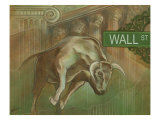 Bull Market Giclee Print by Ethan Harper