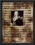 Principals of Music, Handel Posters by Susan Hartenhoff