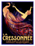 La Cressonnée Reproduction procédé giclée