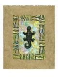 Amphibien antik II Kunstdrucke von Nancy Slocum