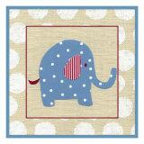 Katherine's Elephant Premium Giclee Print by Chariklia Zarris