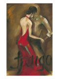 Tango Reproduction procédé giclée par Jennifer Goldberger