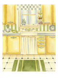 Retro Kitchen I Poster by Chariklia Zarris