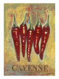 Cayenne Premium Giclee Print by Norman Wyatt Jr.
