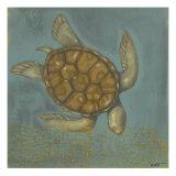 Sea Turtle I Posters van Norman Wyatt Jr.