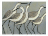 Shore Birds II Premium Giclee Print by Norman Wyatt Jr.