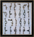 Fifteen Pairs of Hands, 1996 Poster by Bruce Nauman