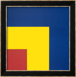 Red, Yellow and Blue, 1963 Poster par Ellsworth Kelly