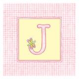 Girl Letter J Art by  Vision Studio