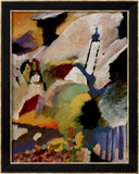 Kirche in Murnau, 1910 Print by Wassily Kandinsky