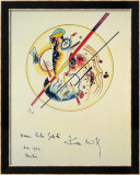 Aquarelle aus Dem, 1922 Prints by Wassily Kandinsky