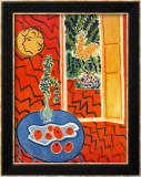 Red Interior, Still Life on Blue Table, c.1947 Affiches par Henri Matisse