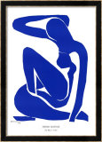 Nu Bleu I, c.1952 Affiches par Henri Matisse