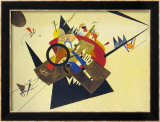 Schwarzes Dreieck, 1923 Art by Wassily Kandinsky