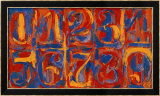 Zero-Nine, 1958/59 Affiches par Jasper Johns