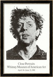 Large Phil Fingerprint, 1979 Arte por Chuck Close