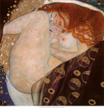 Gustav Klimt - Danae - Tablo