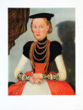 Portrait of a Woman Collectable Print by Lucas Cranach the Elder