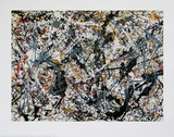 Painting, 1948 Print by Jackson Pollock