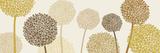 Burnished Alliums Plakat af Linda Wood