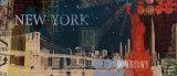 New York Streets Kunstdrucke von Tom Frazier