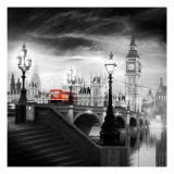 London Bus III Kunst af Jurek Nems