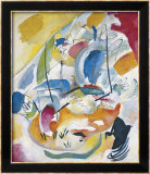 Improvisation 31 (Sea Battle) 1913 Affiches par Wassily Kandinsky