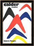 Stabiles, 1971 Affiches par Alexander Calder